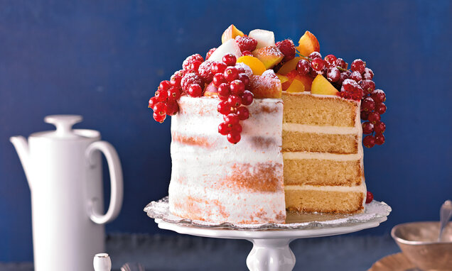 naked cake aux fruits dete