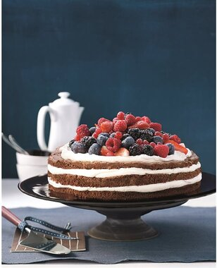 Layer Cake mascarpone et fruits rouges