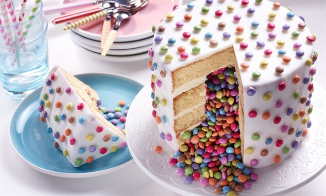 pinata cake gateau surprise