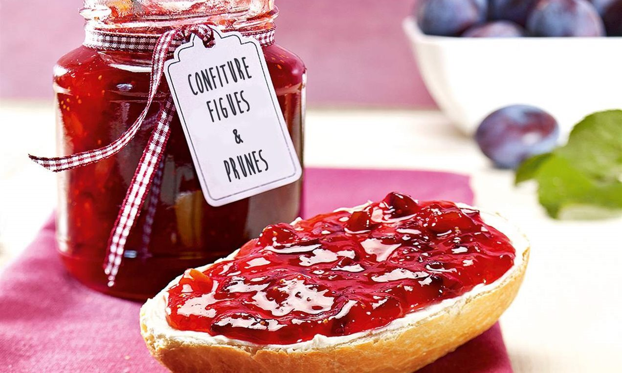 confiture figues prunes